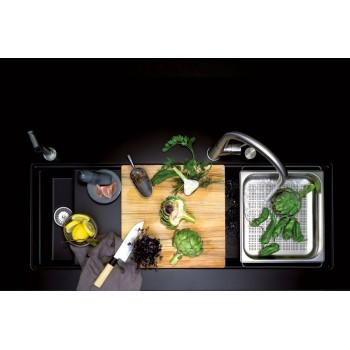 Colander - accesoriu pentru chiuveta care va simplifica lucrul la bucatarie