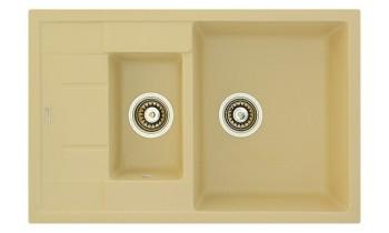 Chiuveta Fabiano Classic 78x50x15 Cream