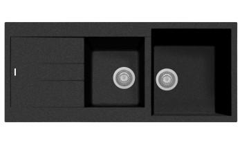 Chiuveta Plados AM11620 Ultrametal Elegance 44 Nero