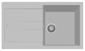 Chiuveta Plados AM8610 Ultrametal Elegance 41 Alluminio