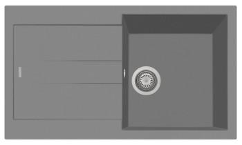 Chiuveta Plados AM8610 Ultrametal Elegance 42 Titanio
