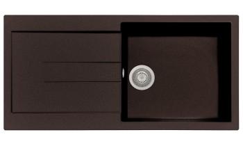 Chiuveta Plados AM9910 Ultrametal Elegance 64 Marrone