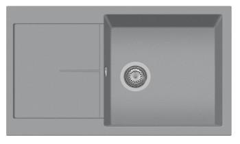 Chiuveta Plados NF8610 Nanostone Infinity N4 Urban Grey