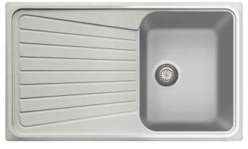 Chiuveta Plados SP0861 Ultrametal Spazio 41 Alluminio