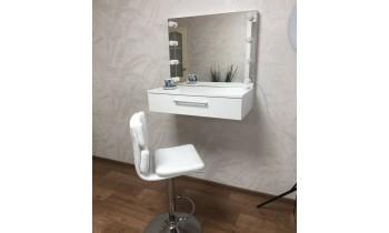 Masa makeup cu oglinda suspendata Camellia