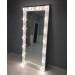 Oglinda pentru proba cu becuri pe perete 180x75 Vanity 1