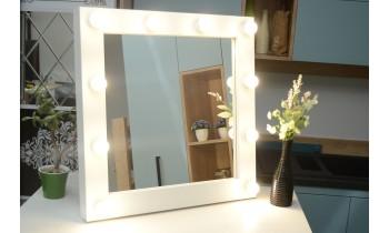 Oglinda Makeup cu becuri Vedette 70x70