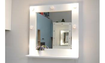 Oglinda machiaj cu polita 72x70