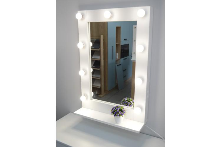 Oglinda machiaj cu polita 87x60