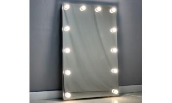 Oglinda Makeup cu becuri 80x60