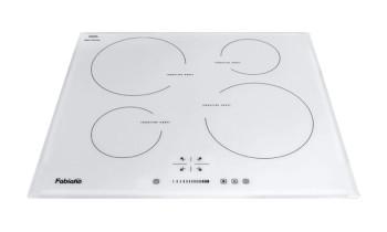 Plita incorporabila cu inductie Fabiano FHI 19-44 VTC Lux White