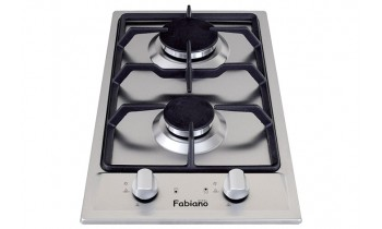 Plita pe gaz Fabiano Domino Fabiano FHG 13-2 VGH Inox